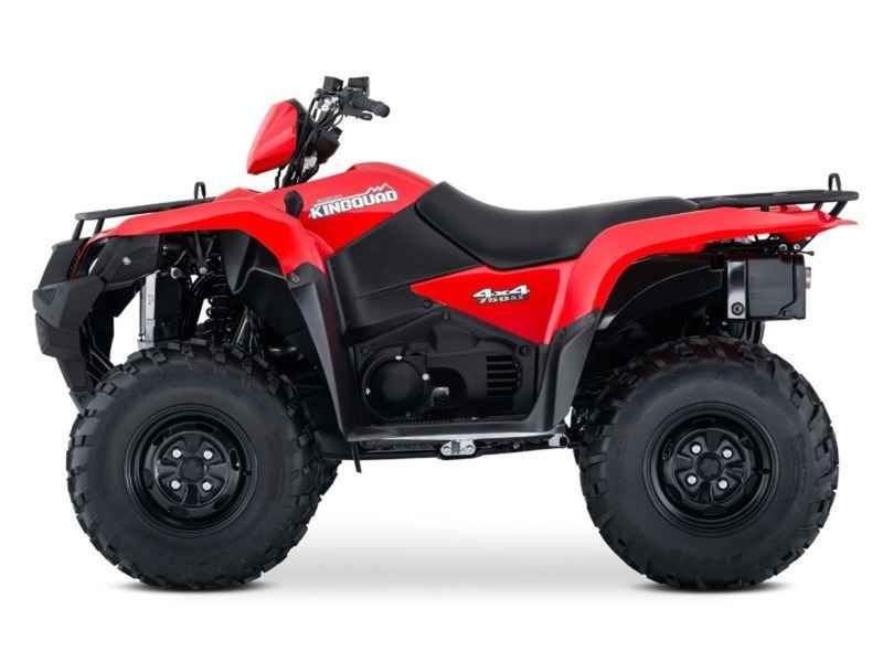 New 2017 Suzuki KingQuad 750AXi Power Steering ATVs For Sale in North Carolina. 2017 Suzuki KingQuad 750AXi Power Steering, 2017 Suzuki KingQuad 750AXi Power Steering In 1983, Suzuki introduced the world's first 4-wheel ATV. Today, Suzuki ATVs are everywhere. From the most remote areas to the most everyday tasks, you'll find the KingQuad powering a rider onward. Across the board, our KingQuad lineup is a dominating group of ATVs. Taking advantage of Suzuki s three-decades-plus experience…