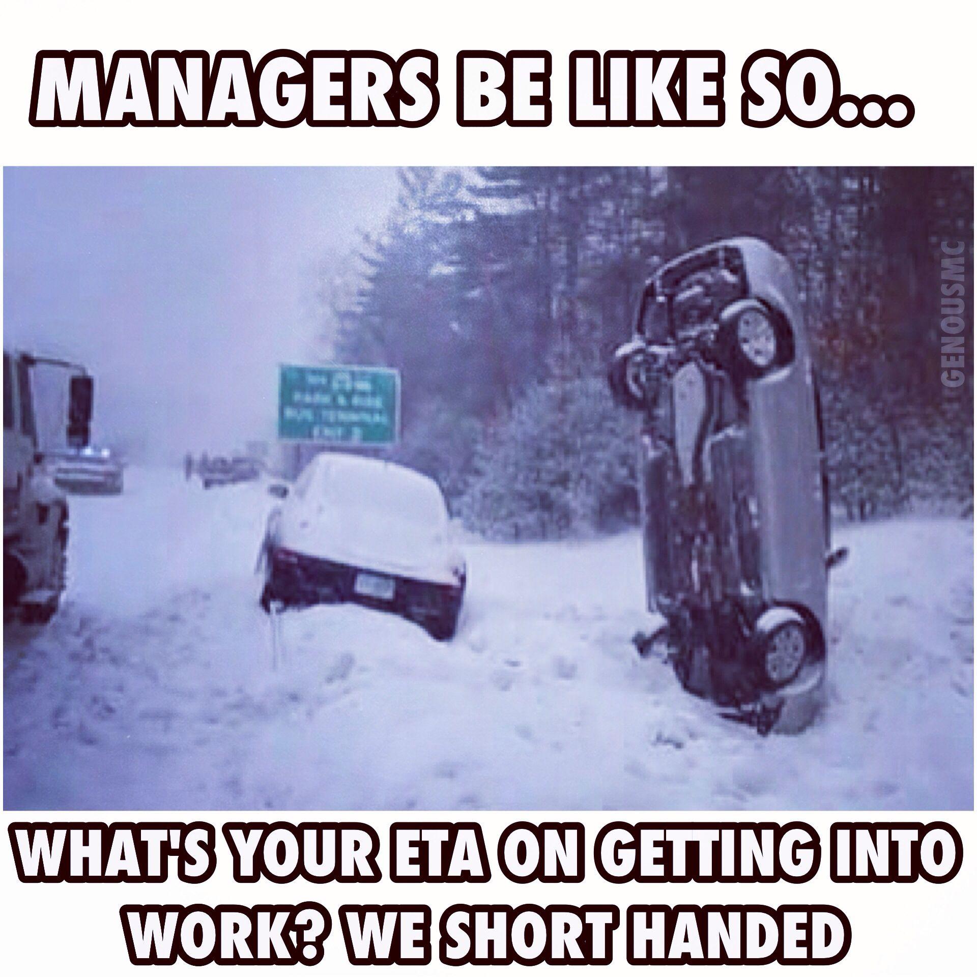 Snow Days Work Jokes Work Memes Workplace Humor