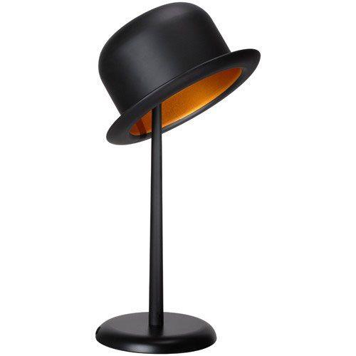 Eine Tischlampe im Hutständer-Look. Emma Peel lässt grüßen!- kramsen ...