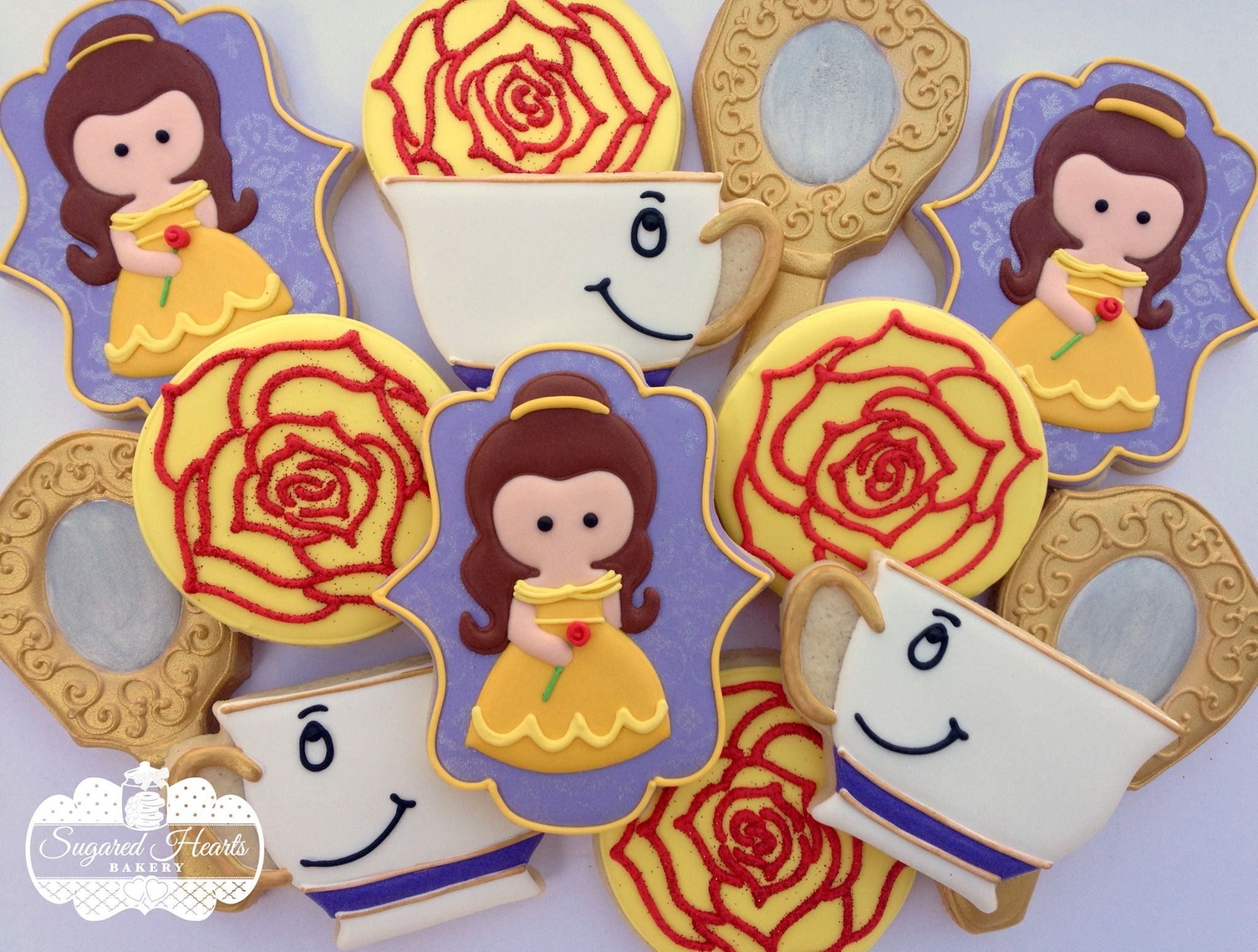 Galletas Decoradas De Princesas Sugared Hearts Bakery On Facebook Decorated Sugar