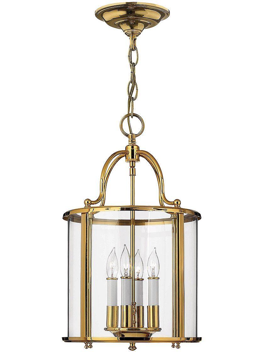 Herman 4 Light Lantern Drum Chandelier