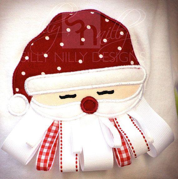 ribbon santa shirt