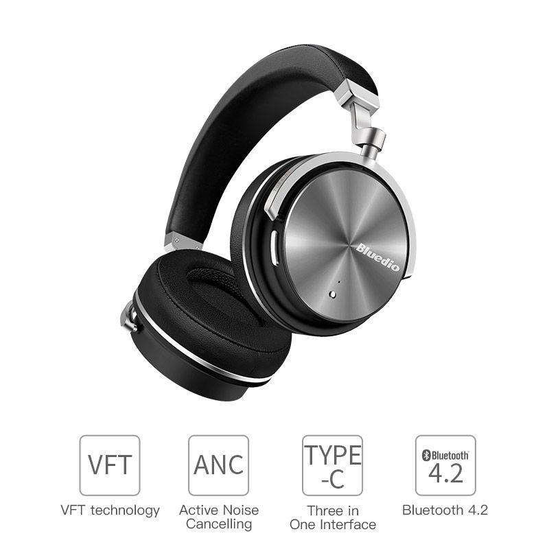 2017 Originale Bluedio T4S cuffie bluetooth con microfono auricolare senza  fili bluetooth per Iphone Samsung Xiaomi cuffia c2c488797f5b