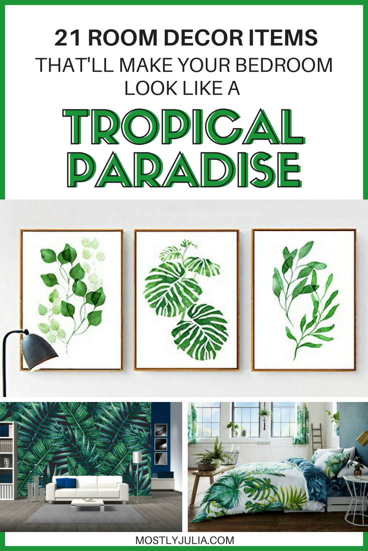 tropical home decor items 21 items that ll make your bedroom a tropical paradise tropical  bedroom a tropical paradise