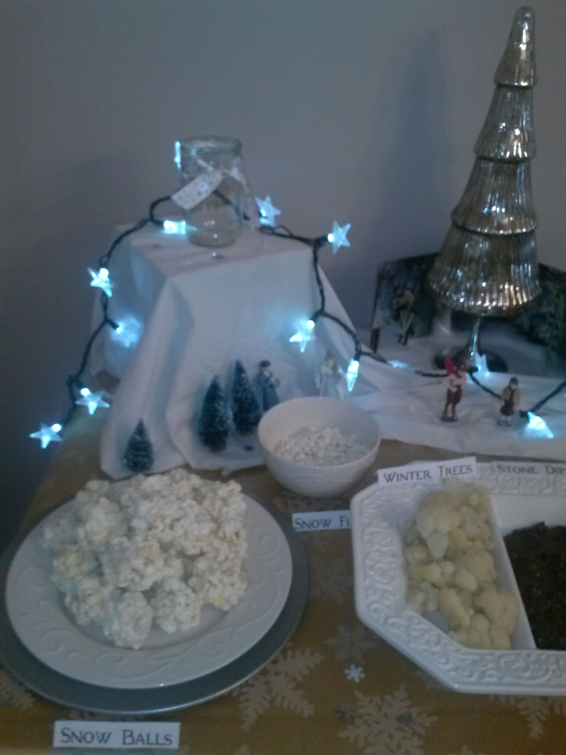 Narnia Party Winter Food Snow party, Joint birthday