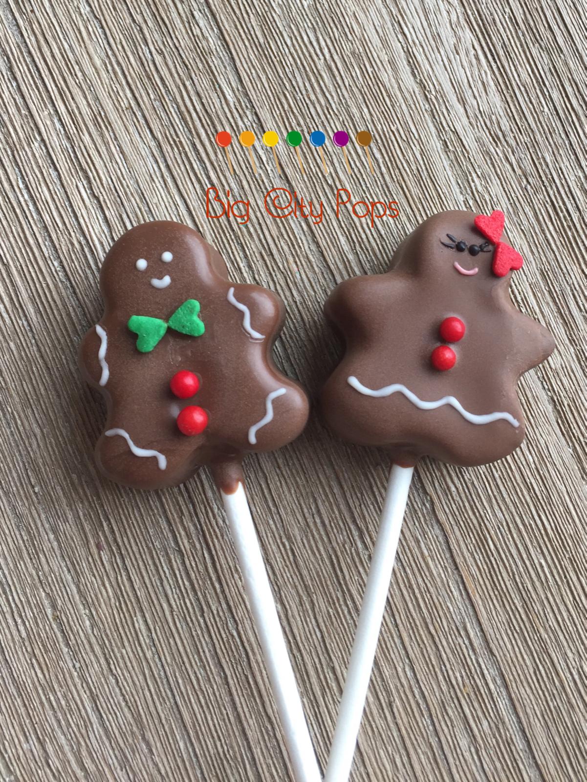 Gingerbread men cakepops. Gingerbread people desserts