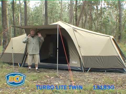 Black Wolf Turbo Lite Twin - Tent Guide - BCF - YouTube & Black Wolf Turbo Lite Twin - Tent Guide - BCF - YouTube | Camping ...