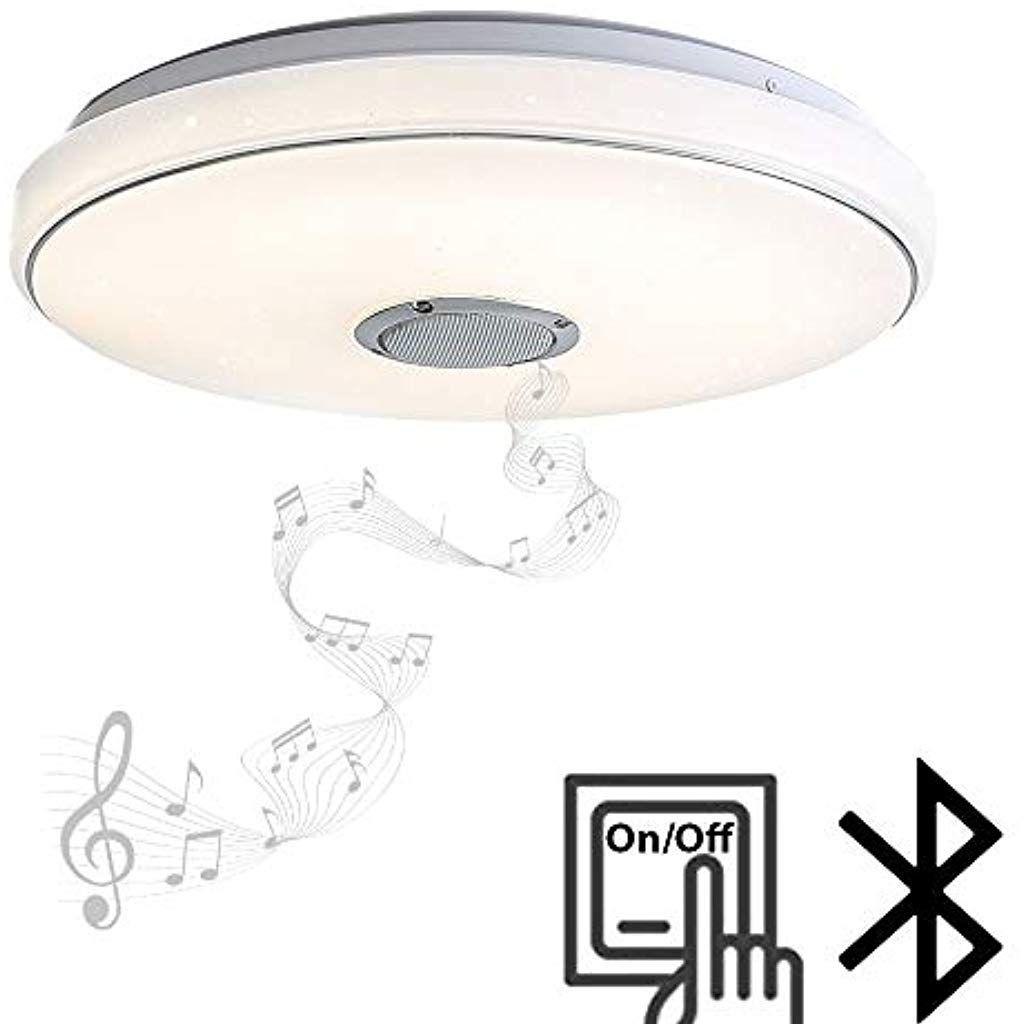 36w Led Deckenleuchte Bluetooth Deckenlampe Moderne Lampe Mit Blurtooth Lautsprecher 40 40 6cm Beleuchtung In 2020 Led Deckenleuchte Led Deckenlampen Moderne Lampen