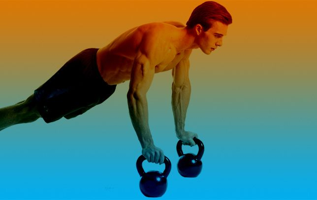 3 Kettlebell Exercises That Work Your Muscles in All-New Ways (With images) | Kettlebell workout. Kettlebell. Kettlebell abs