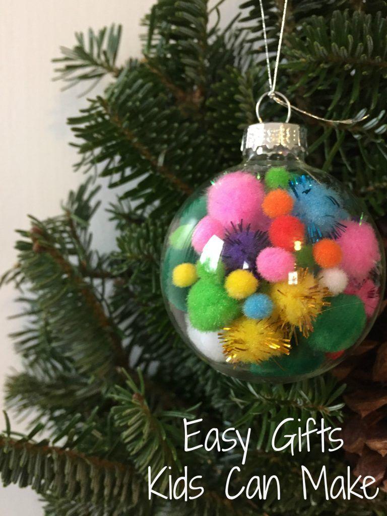 Easy Christmas Gifts Kids Can Make | Christmas | Pinterest ...