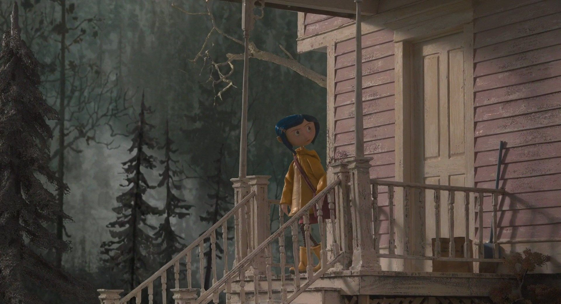 Pin By Ryan Cohen On Film Color Composition Coraline Coraline Jones Forest Backdrops