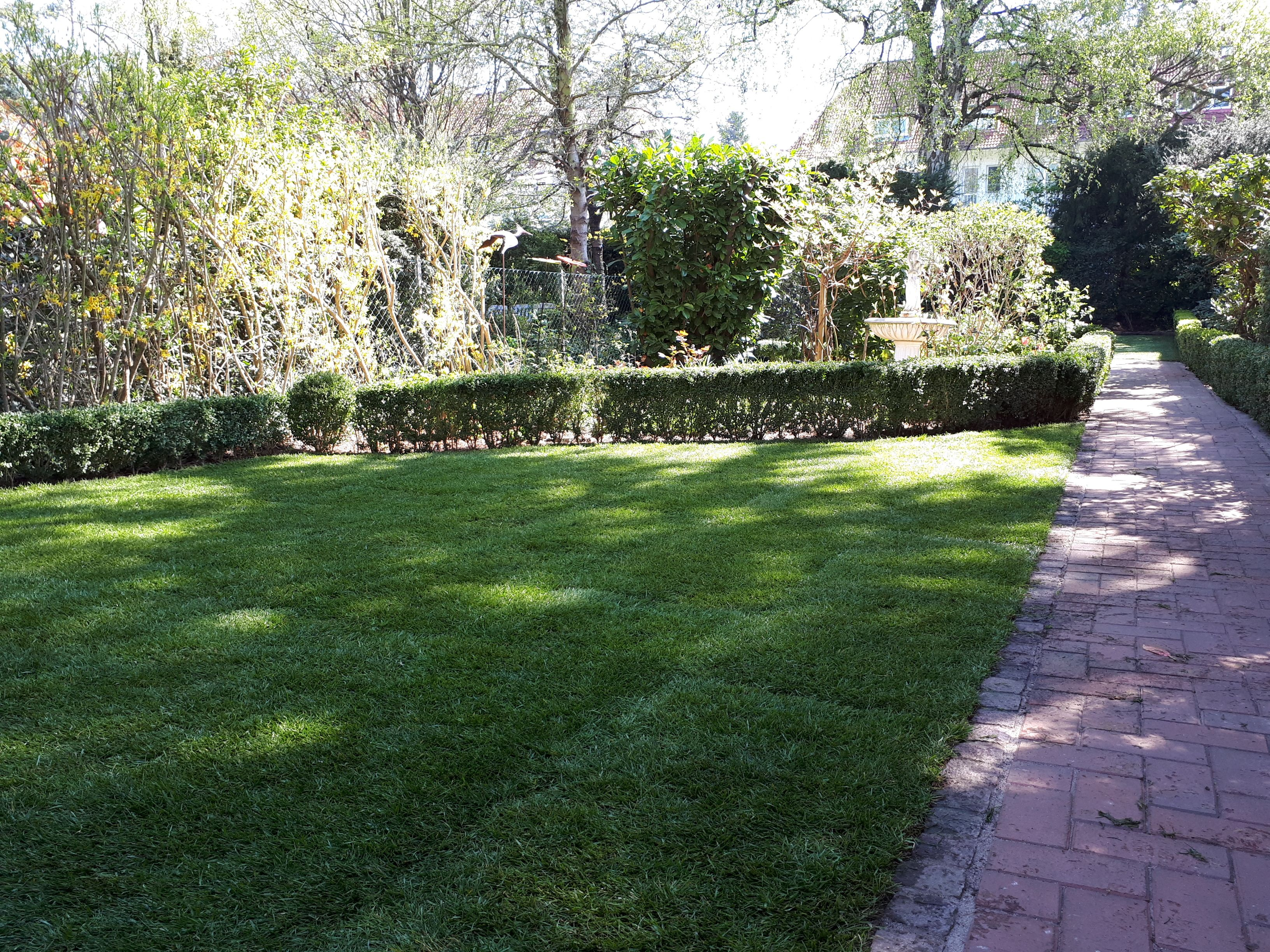Garten Ideen Rasen Rollrasen Verlegen Durch Greenfairway E K Rollrasen Fertigrasen