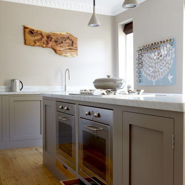 Kitchen Design Kent: Beckenham, Kent: Handleless Kitchen With Breakfast
