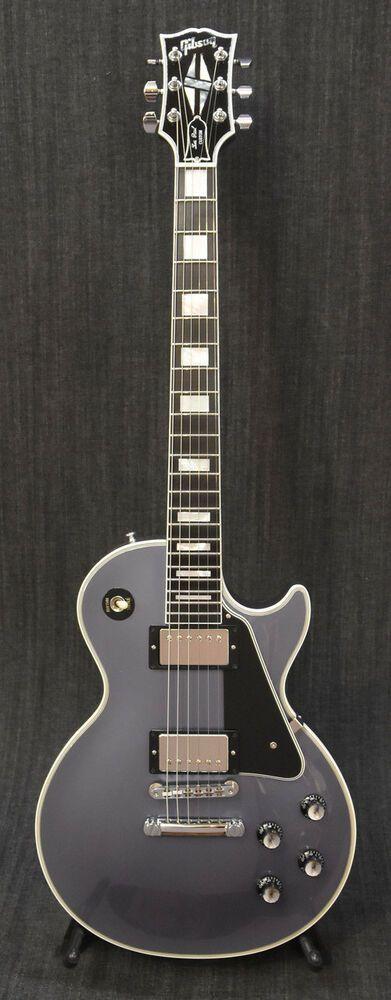 Gibson Custom Shop Historic Collection 1968 Les Paul Custom Metallic Blue, #Gibson #LesPaul #gibsonguitars