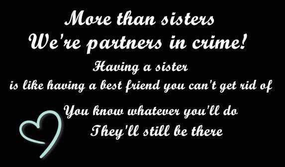 More Than Sister Pictures, Photos, and Images for Facebook, Tumblr, Pinterest, and Twitter