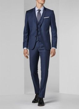 Costume bleu min ral fil fil 16ec3digg f567 32 costume slim homme mariage pinterest - Homme le plus beau du monde ...