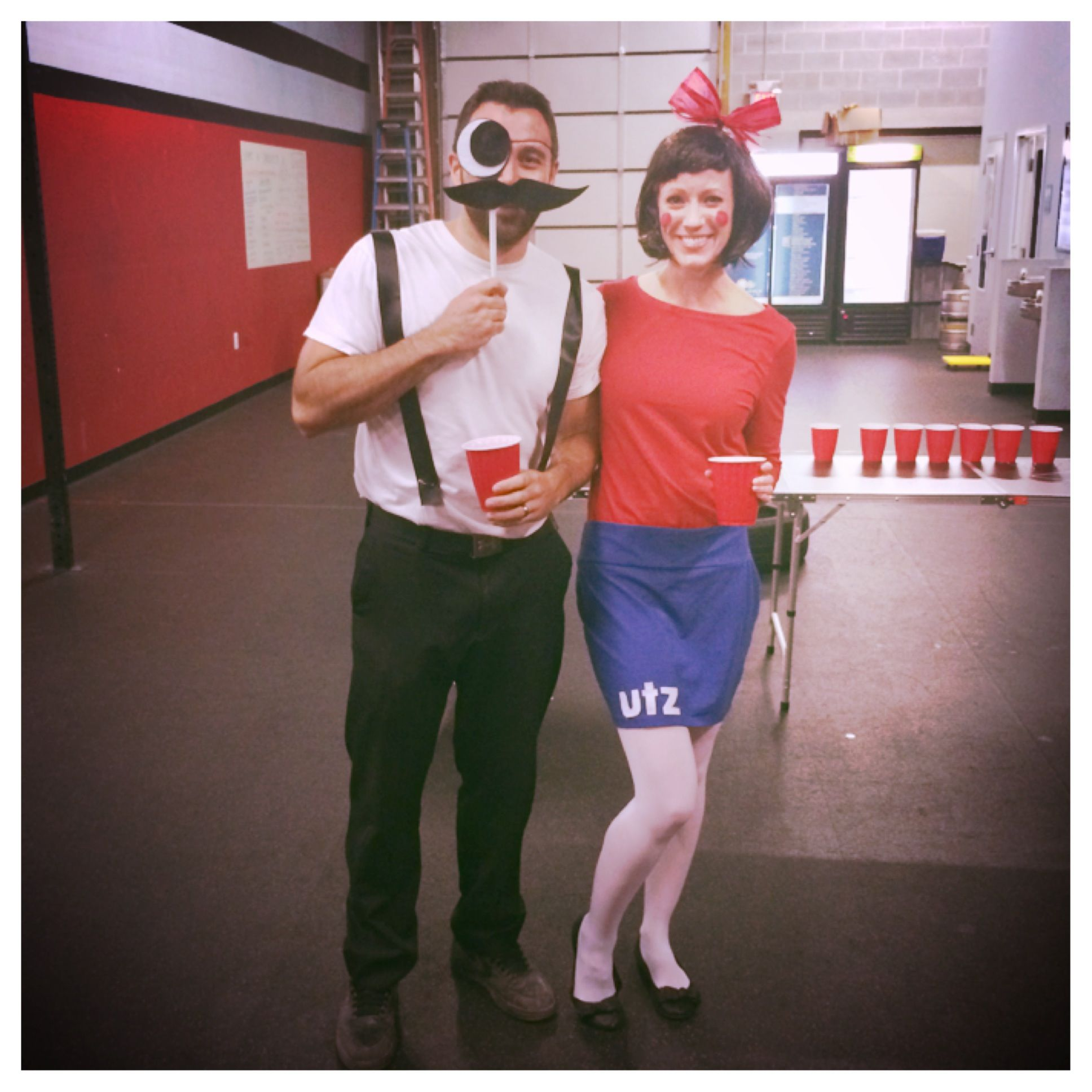 Natty boh and Utz girl Halloween costume #baltimore | Clothes ...