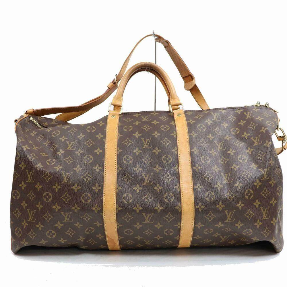 Authentic Louis Vuitton Boston Bag Keepall Bandoliere 60