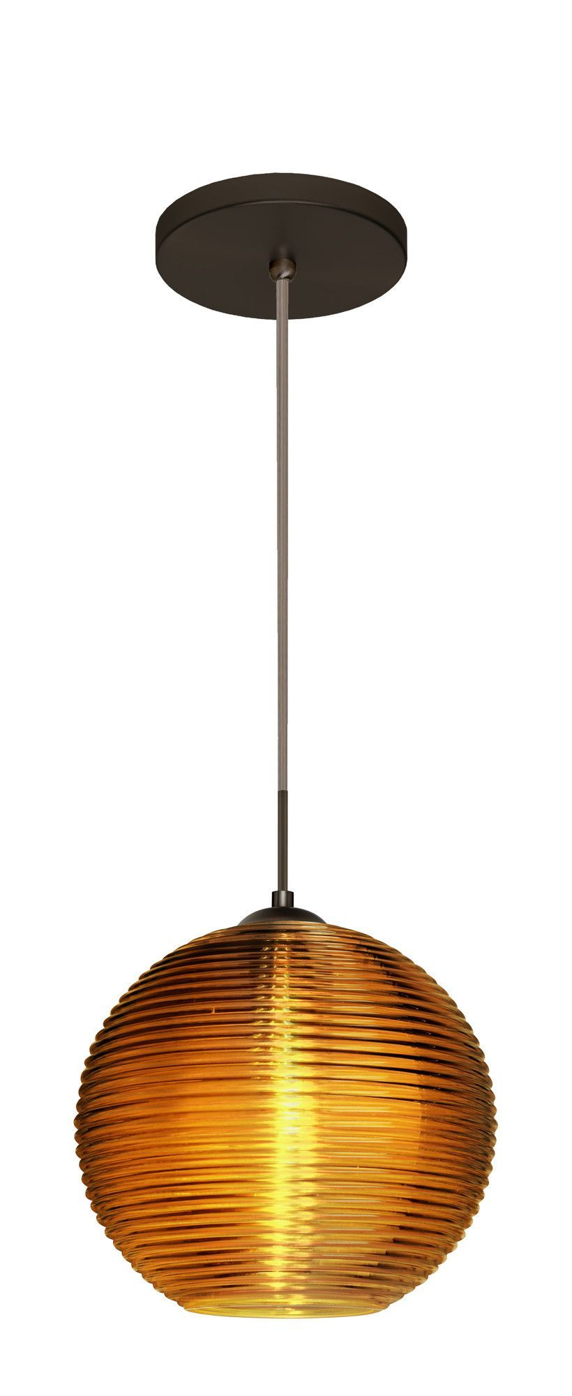 Kristall integrated bulb globe pendant products pinterest