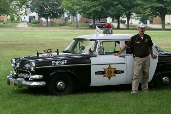 Old Sheriff car