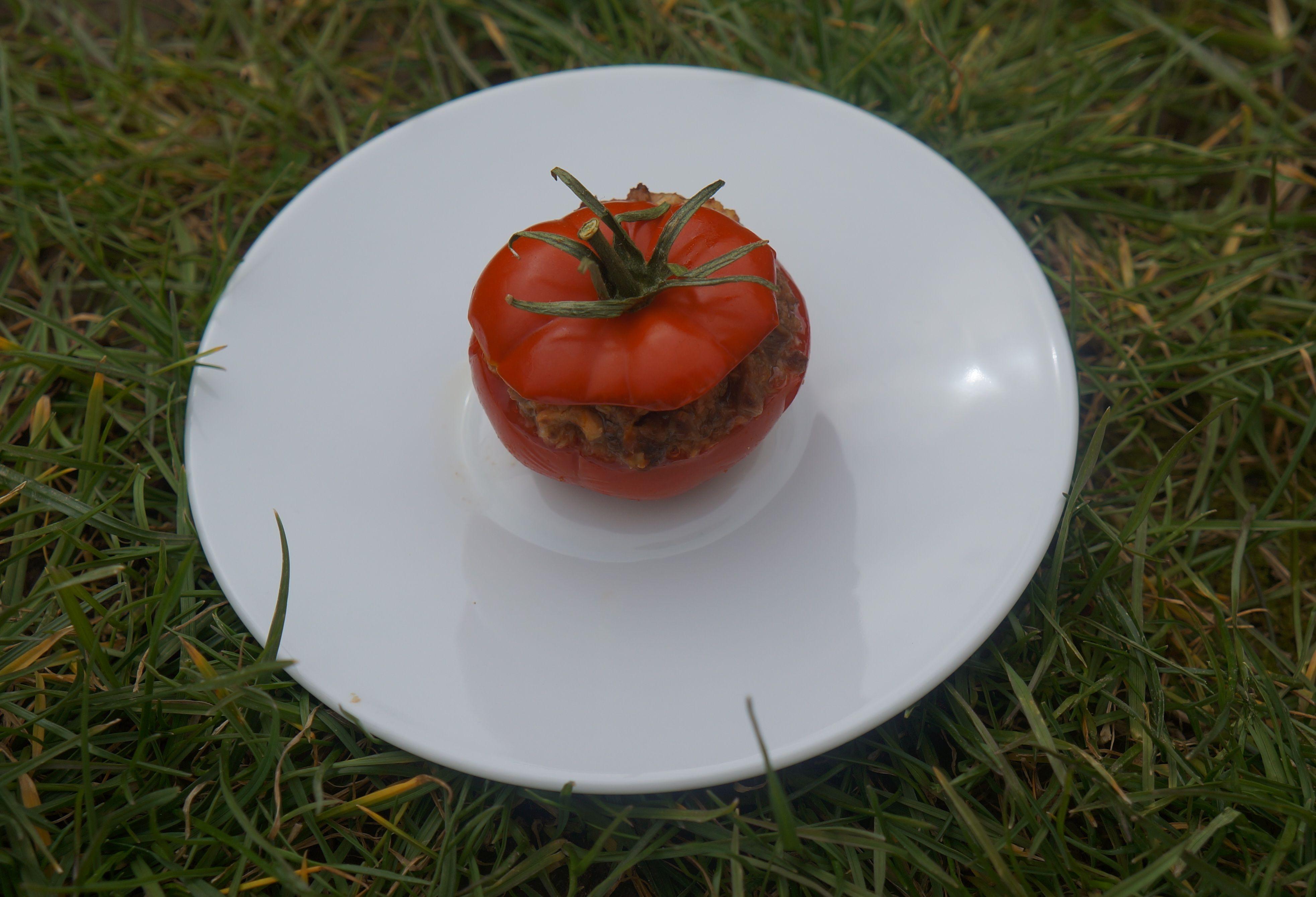 Que faire avec des restes de viandes de #boeuf/#veau ? #antigaspi  Tomates Farcies Tuerie