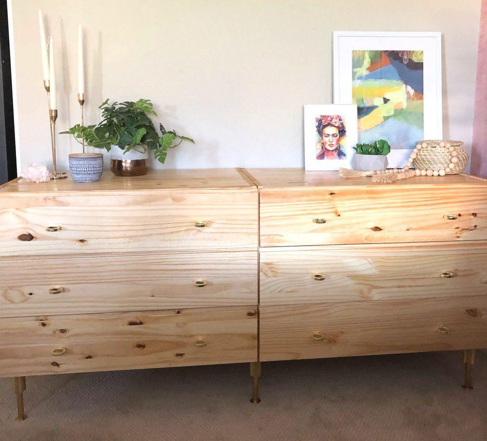 IKEA Dresser Hack — Burnett Bungalow   Ikea dresser, Ikea dresser ...
