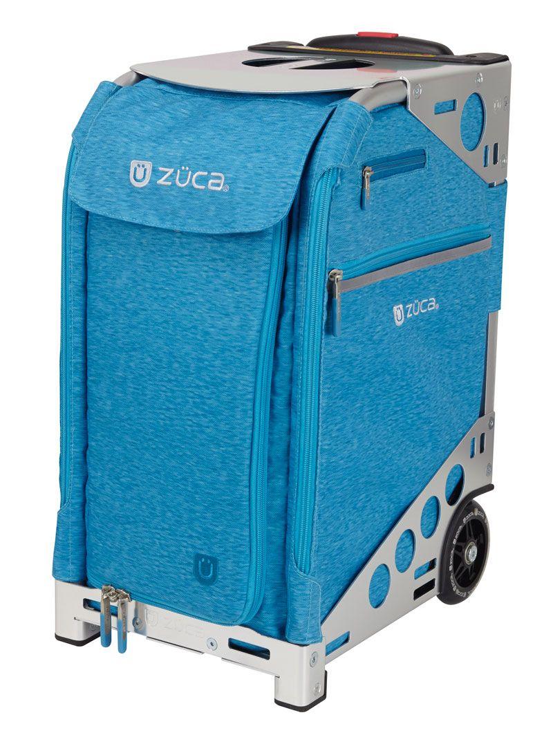 Pro Heather Aqua/Silver Silver bags, Aqua, Suitcase