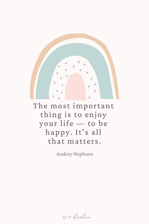 The Most Important thing is to enjoy your life - to be happy. It's all that matters.  #inspirationalquote #positivityquote #selflovequote
