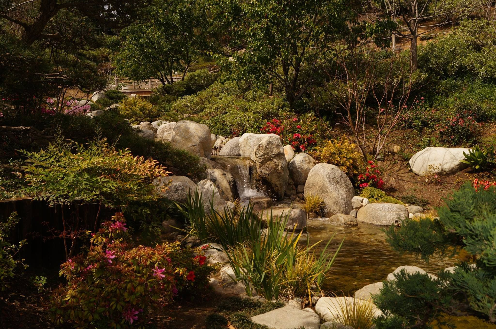Japanese Friendship Garden in Balboa Park. Photo by Michael Kent ...