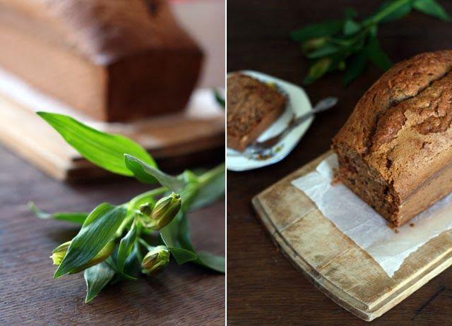 Recept courgette brood (zucchini bread) met noten