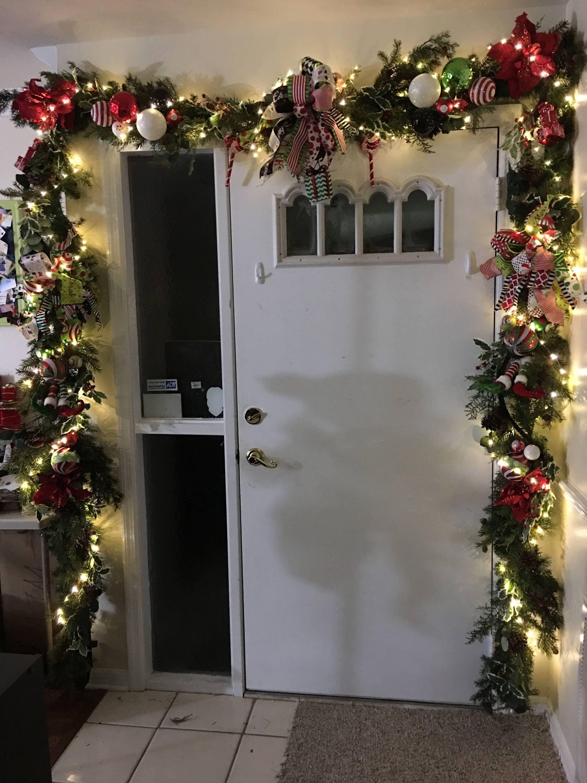 24 Christmas Garland Fireplace Garland Lighted Garland Ornament