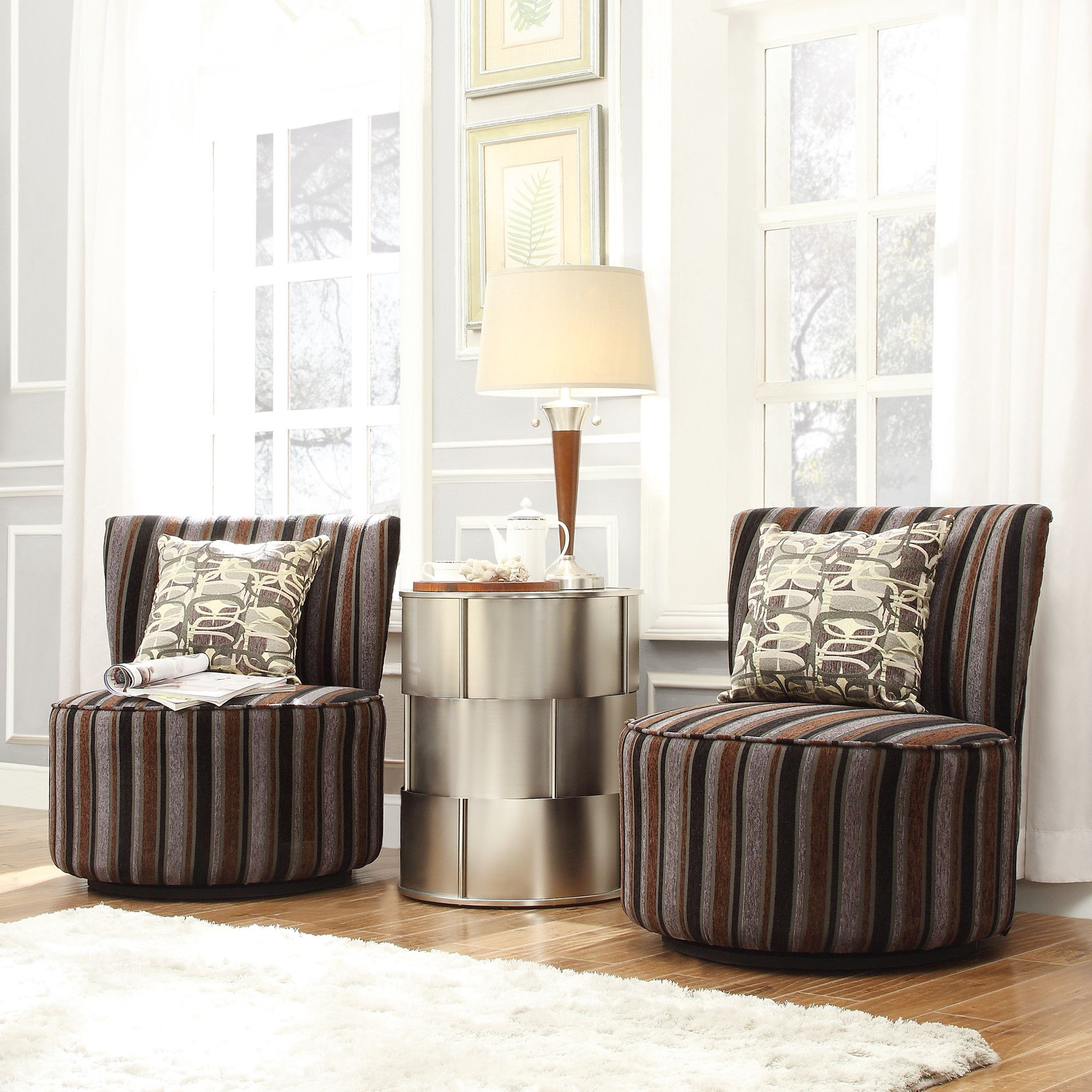 Kingstown Home Alfosa Swivel Accent Chair Accent chairs