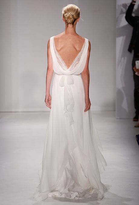 Open Back Wedding Dresses from the Fall 2015 Bridal ... - photo #3
