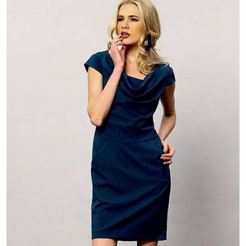 Vogue 8873 Kleid | Englisch, Schnittmuster und Kleid nähen