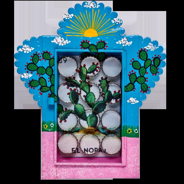 Loteria Nopal Nicho by Aaron Diaz