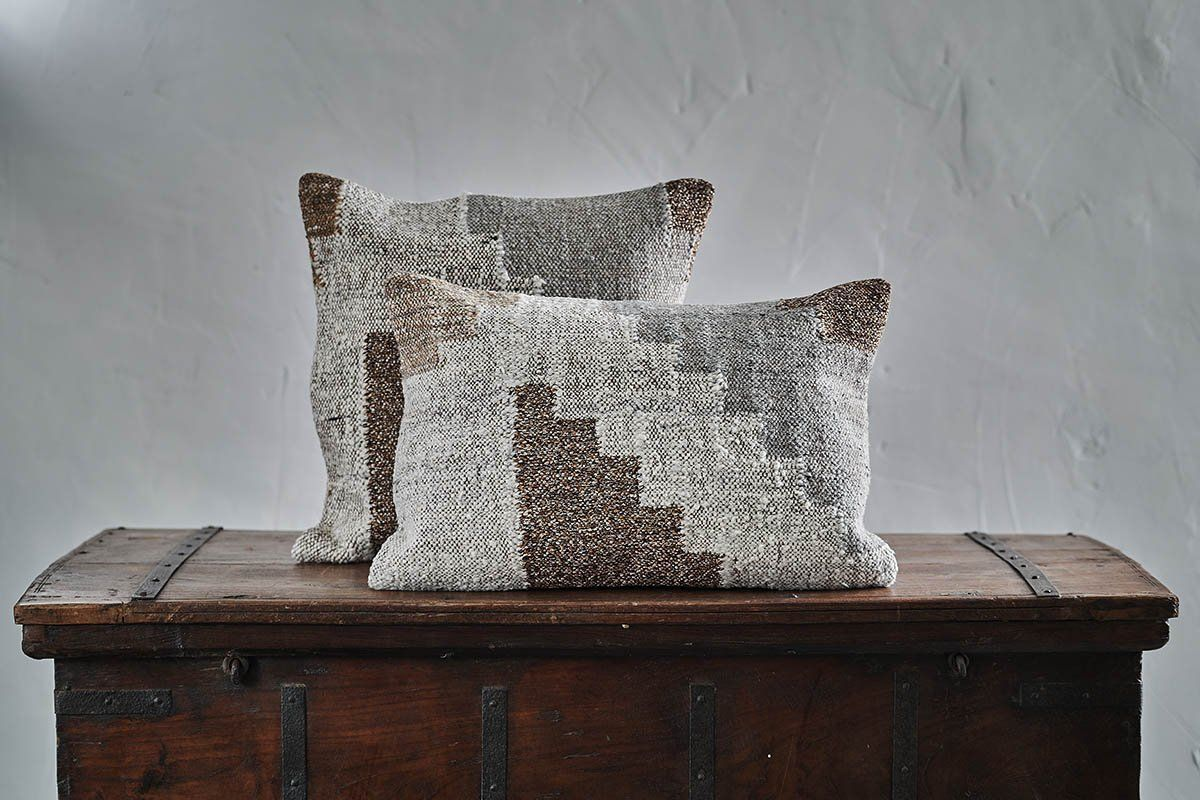 Harti Block Design Cushion Cover Nkuku Cushion Cover Cushions