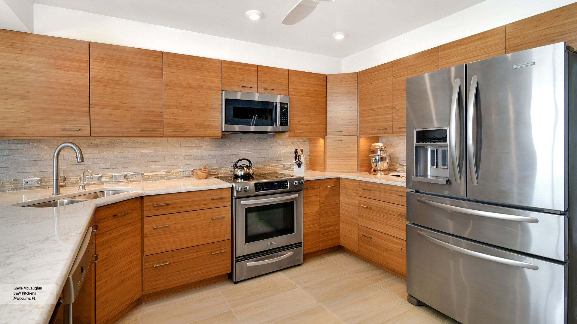 Natural Bamboo Kitchen Cabinets Omega Cabinetry Cost Of