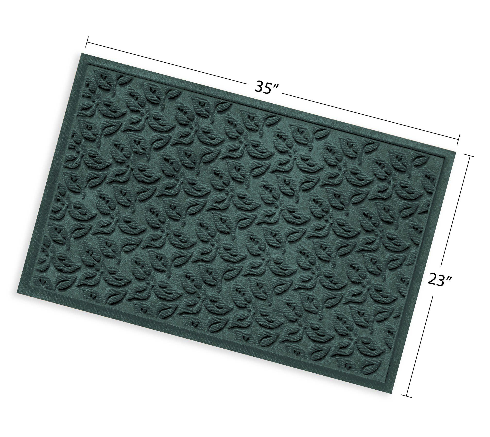 Bungalow Flooring Waterhog Doormat 2 X 3 Skid Resistant Easy To Clean Catches Water And Debris Dogwood Leaf Collect Bungalow Flooring Outdoor Door Mat Door Mat