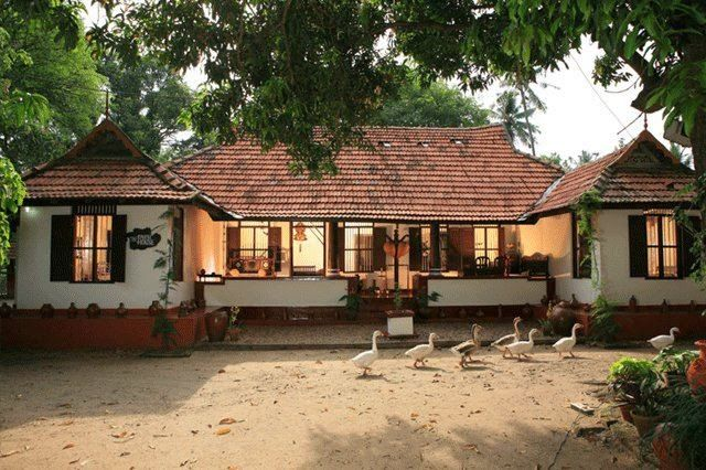 Kerala dream homes kerala style its a different one for Home design in village