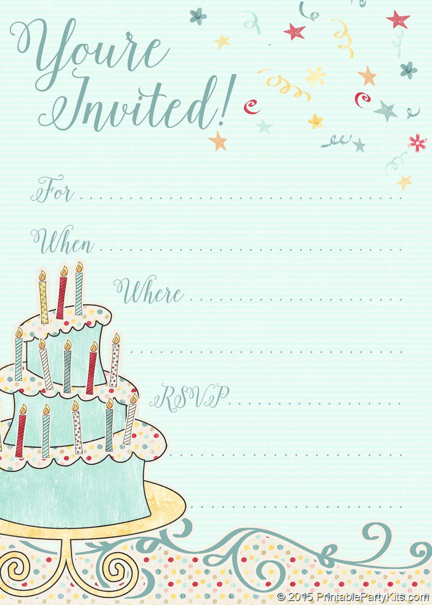 Free Birthday Party Invitation Templates Elegant Free Printable Whims Party Invite Template Birthday Party Invitation Templates Girl Birthday Party Invitations