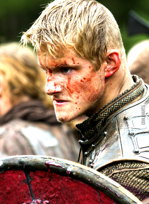 Young Björn Ironside, son of Ragnar Lodbrok. Björn is famous for his raids in France. To learn more about Bjorn Ironside click here: http://en.wikipedia.org/wiki/Bj%C3%B6rn_Ironside