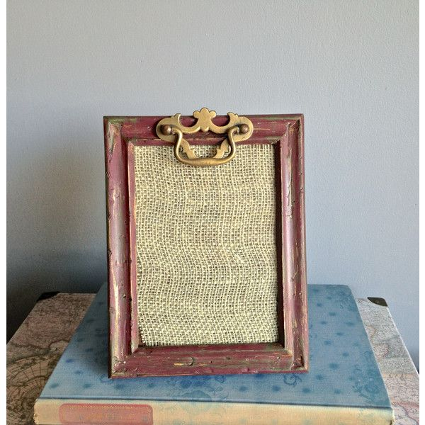 Rustic Distressed Wood Picture Frame/Vintage Rustic Decor/Mother\'s ...