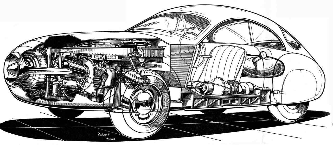 S-T-R-M - carsthatnevermadeit: SOCEMA Gregoire, 1952. The ...