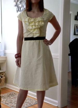 Easy Dress Tutorials for Beginners: The Coffee Date Dress