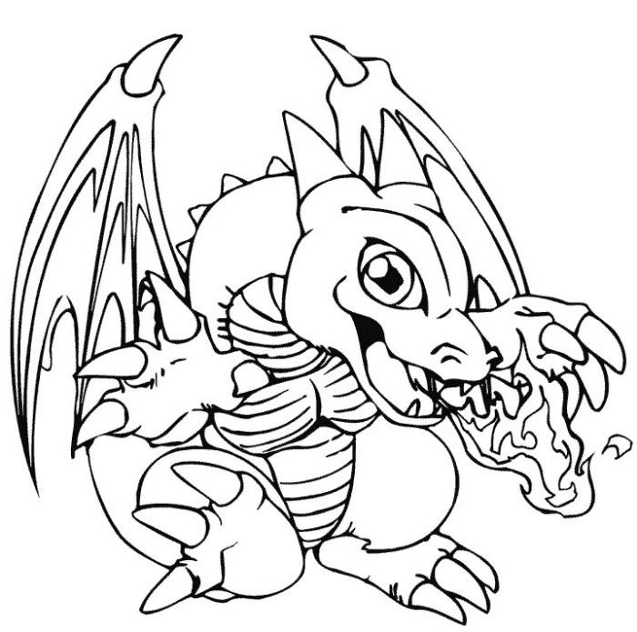 Kids Baby Dragon Coloring Pages At Exterior Picture Coloring Page