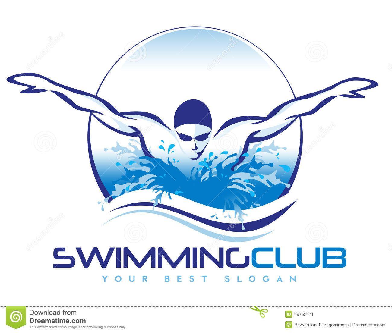 swimming logo stock illustration image 39762371 swimming logo rh pinterest com swimming logo shirts swimming logo shirts