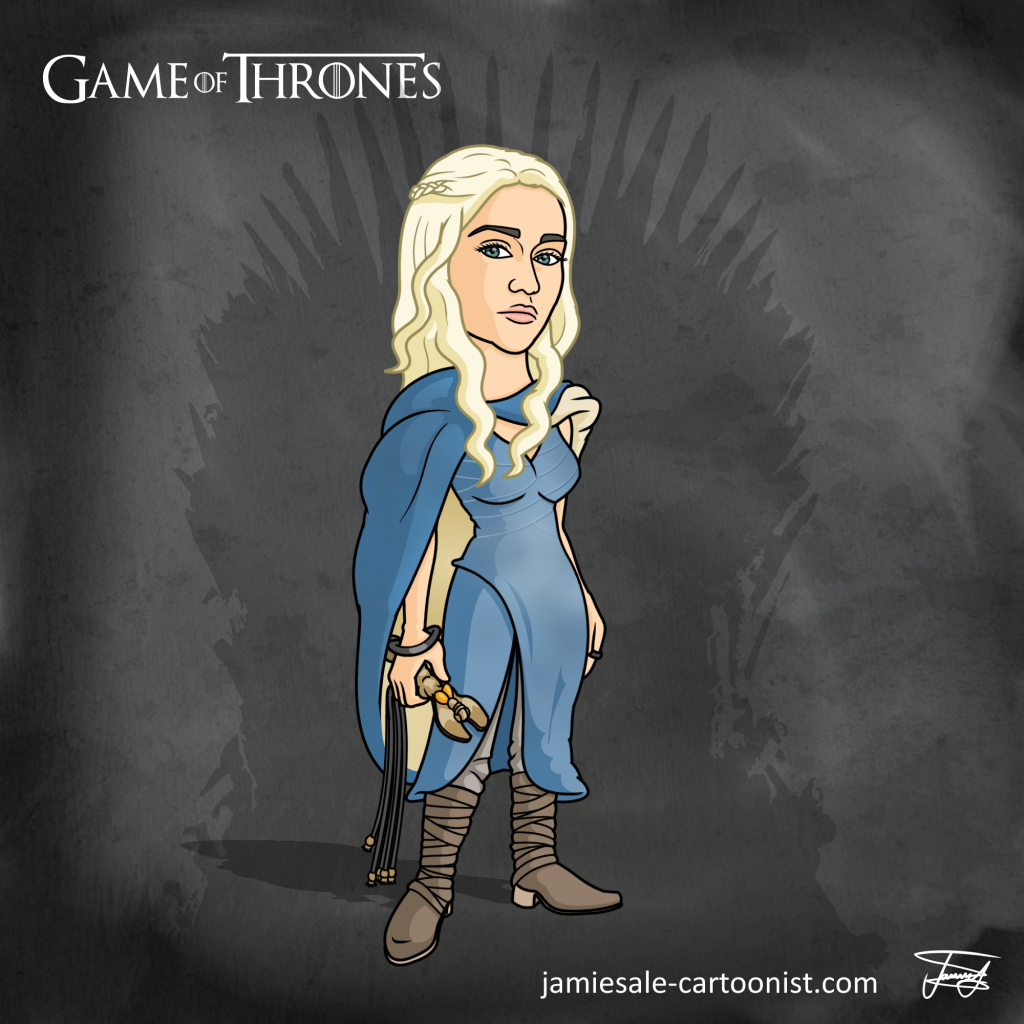 Game Of Thrones Cartoons - Jamie Sale Cartoonist With -8212