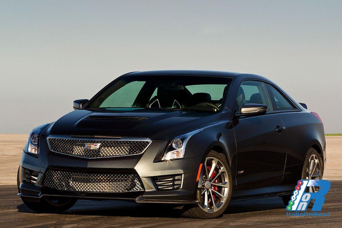 La Cadillac ATS-V coupé, con motore biturbo http://www.italiaonroad.it/2016/05/29/la-cadillac-ats-v-coupe-con-motore-biturbo/