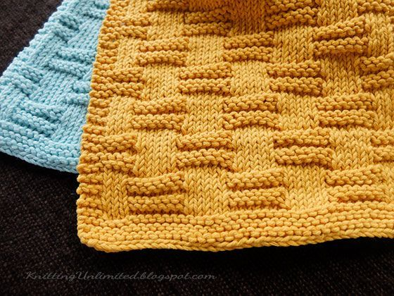 Free Dishcloth Pattern 4 From Knittingunlimitedspot All