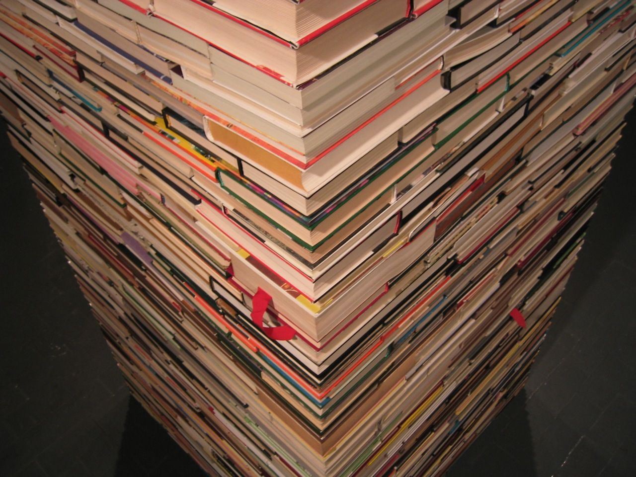 stack of books